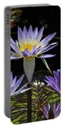 African Waterlily Dazzle -- Plus Dragonfly Portable Battery Charger