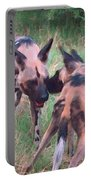 African Wild Dogs Portable Battery Charger