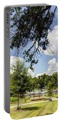 Afternoon At The Park Portable Battery Charger