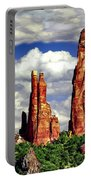 Afternoon Cathedral Rocks Saddle View Red Rock State Park Sedona Arizona Portable Battery Charger