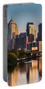 Afternoon In Philly Portable Battery Charger