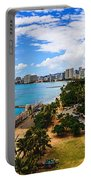 Afternoon On Waikiki Portable Battery Charger