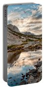 Afternoon Reflections Portable Battery Charger by Cat Connor