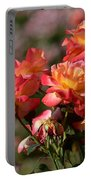 Afternoon Roses Portable Battery Charger