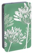 Agapanthus Breeze Portable Battery Charger