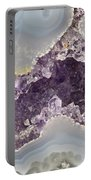 Agate And Amethyst 02 Portable Battery Charger