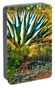 Agave In Secret Mountain Wilderness West Of Sedona Portable Battery Charger