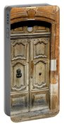 Aged Door In Provence Portable Battery Charger