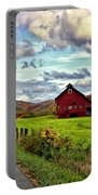 Ah...west Virginia Portable Battery Charger by Steve Harrington