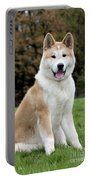 Akita Inu Dog Portable Battery Charger