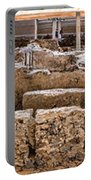 Akrotiri Archaeological Site In Santorini Portable Battery Charger