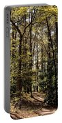 Alabama Woodlands In Spring 2013 Portable Battery Charger