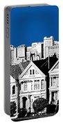 Alamo Square -  Royal Blue Portable Battery Charger