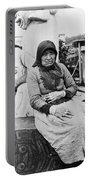 Alaska Eskimo Woman Portable Battery Charger