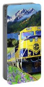 Alaska Railroad Portable Battery Charger
