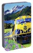 Alaska Railroad Portable Battery Charger