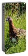 Alaska State Bird Willow Ptarmigan Portable Battery Charger
