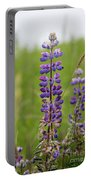 Alaskan Lupines Portable Battery Charger