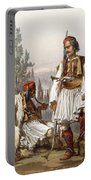 Albanians, 1865 Portable Battery Charger