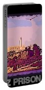 Alcatraz Prison Poster Portable Battery Charger
