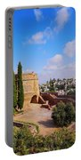 Alcazaba In Granada Portable Battery Charger