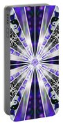 Alchemical Flowers Portable Battery Charger