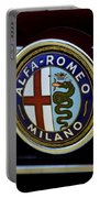Alfa Romeo Badge Portable Battery Charger
