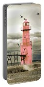 Algoma Pierhead Lighthouse Portable Battery Charger