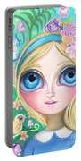 Alice In Pastel Land Portable Battery Charger