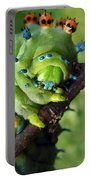 Alien Nature Cecropia Caterpillar Portable Battery Charger