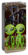 Aliens And Whatamacallit Portable Battery Charger