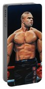 Alistair Overeem Portable Battery Charger by Paul Meijering