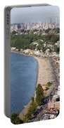 Alki Beach And Downtown Seattle Portable Battery Charger