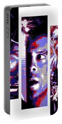 All-american 80's Action Movies Portable Battery Charger by Dale Loos Jr