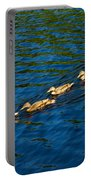 All Ducks Lined Up Portable Battery Charger