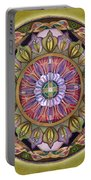 All Is Well Mandala Portable Battery Charger
