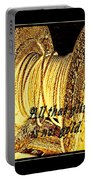 All That Glitters Is Not Gold Portable Battery Charger