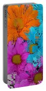 All The Flower Petals In This World 2 Portable Battery Charger by Kume Bryant
