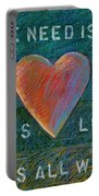 All We Need Is Love 1 Portable Battery Charger