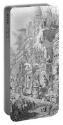 Allegorical Frontispiece Of Rome And Its History From Le Antichita Romane  Portable Battery Charger by Giovanni Battista Piranesi