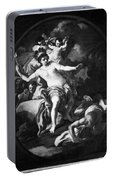 Allegory Of America Portable Battery Charger