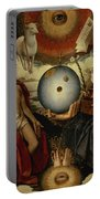 Allegory Of Christianity Oil On Panel Portable Battery Charger