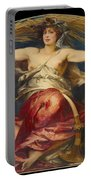 Allegory Of Religious And Profane Painting  Portable Battery Charger