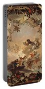 Allegory Of The Planets And Continents Portable Battery Charger