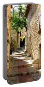 Alley In Eze, France Portable Battery Charger