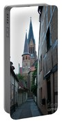 Alley In Schleswig - Germany Portable Battery Charger