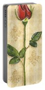 Allie's Rose Sonata 1 Portable Battery Charger by Debbie DeWitt