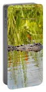 Alligator Reflection Portable Battery Charger by Al Powell Photography USA