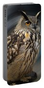 Almeria Wise Owl Living In Spain  Portable Battery Charger