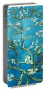 Almond Blossom Branches Print Portable Battery Charger